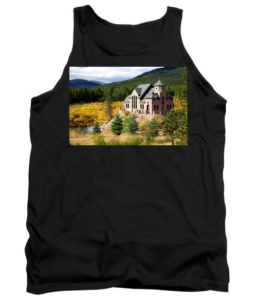 Tank Top featuring the photograph Autumn At St. Malo  by Jim Garrison