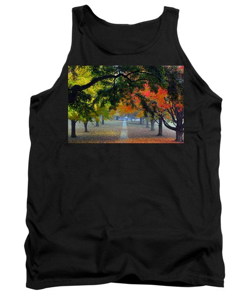 Autumn Canopy Tank Top by Lisa Phillips