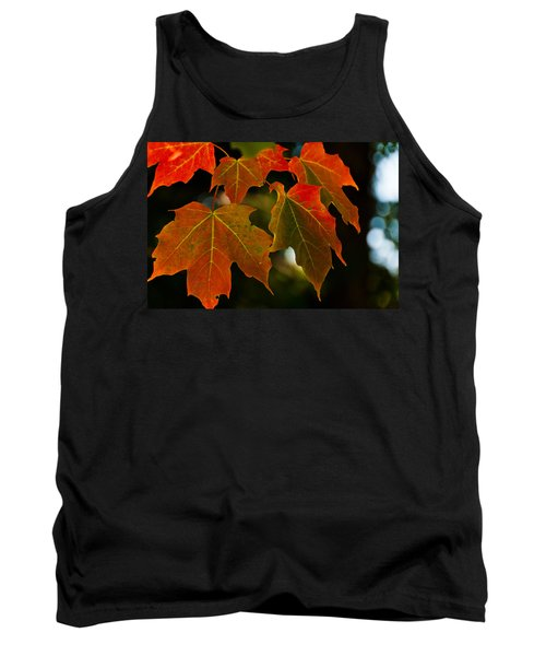 Tank Top featuring the photograph Autumn Glory by Cheryl Baxter