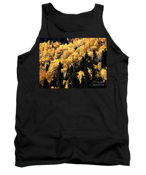 Autumn In Colorado Painting Tank Top