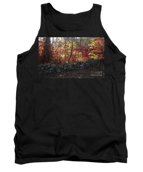 Autumn In New England Tank Top