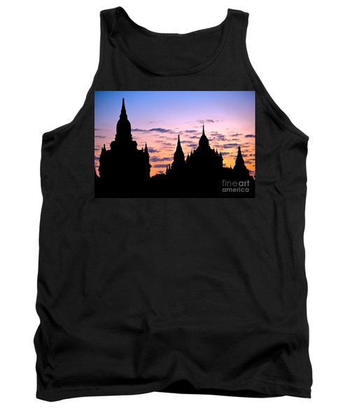 Tank Top featuring the photograph Bagan by Luciano Mortula