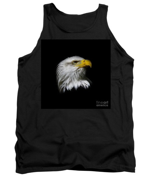 Tank Top featuring the photograph Bald Eagle by Steve McKinzie