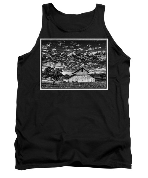 Barn At Sunset Tank Top