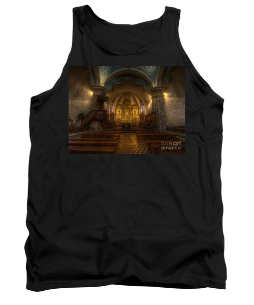 Baroque Church In Savoire France Tank Top by Clare Bambers
