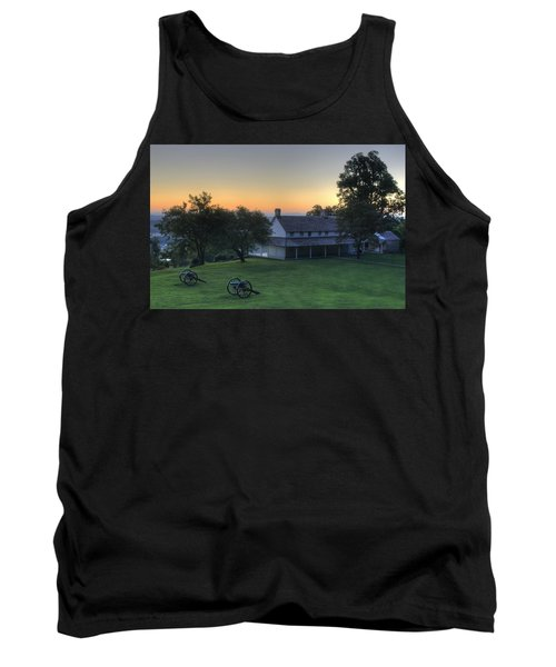 Battle Grounds Tank Top by David Troxel