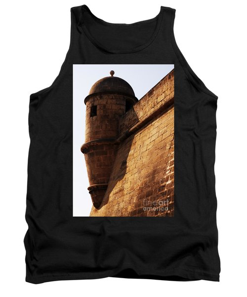 Battlement Tank Top