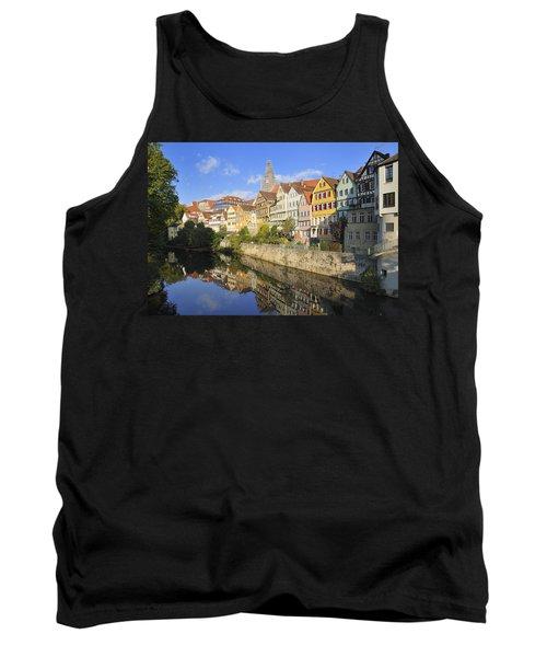 Beautiful German Town Tuebingen - Neckar Waterfront Tank Top