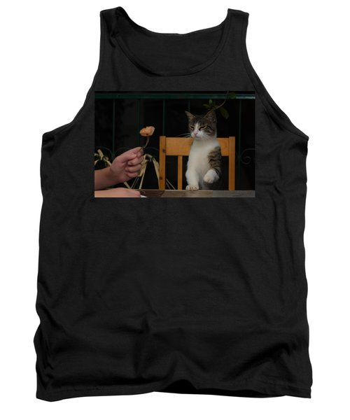 Before The Attack Tank Top