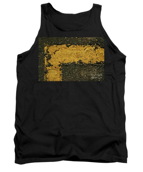Behind The Yellow Line Tank Top