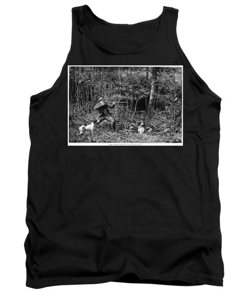 Bird Shooting, 1886 Tank Top by Granger