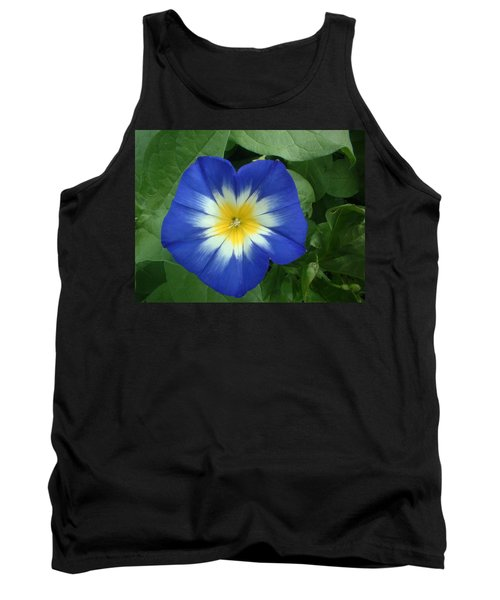 Tank Top featuring the photograph Blue Burst by Bonfire Photography