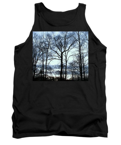 Tank Top featuring the photograph Blue Mirage by Pamela Hyde Wilson