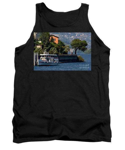 Boat And Tree Tank Top