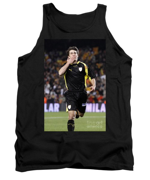 Bojan Krkic Celebrating A Goal 2 Tank Top