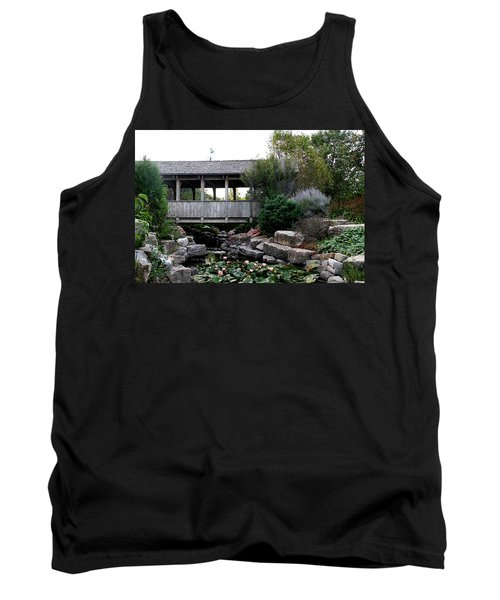 Tank Top featuring the photograph Bridge Over Water by Elizabeth Winter