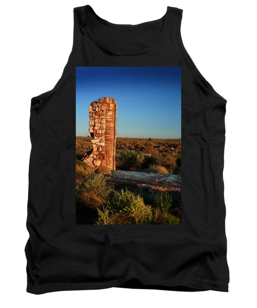 Tank Top featuring the photograph Broken Glass At Two Guns by Lon Casler Bixby
