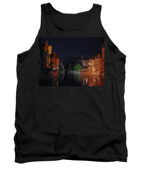Tank Top featuring the photograph Bruges by David Gleeson