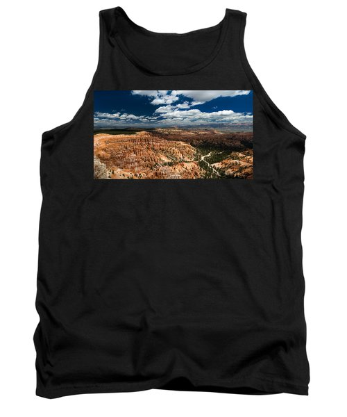 Bryce Canyon Ampitheater Tank Top by Larry Carr