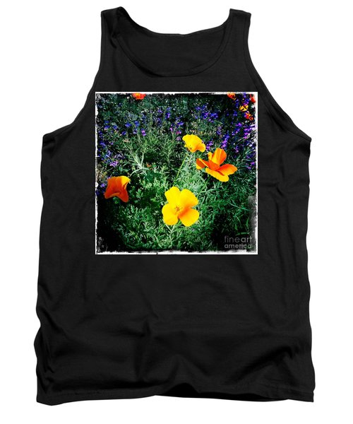 Tank Top featuring the photograph California Poppy by Nina Prommer