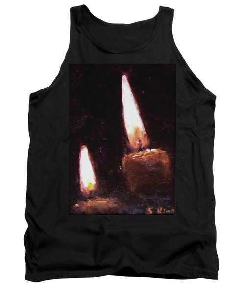 Candle Glow Tank Top