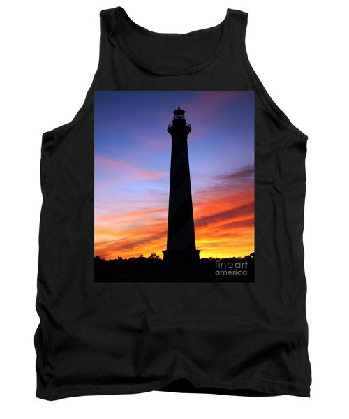 Cape Hatteras Sunset Tank Top by Tony Cooper