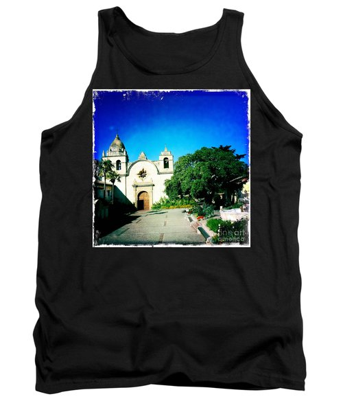 Tank Top featuring the photograph Carmel Mission by Nina Prommer