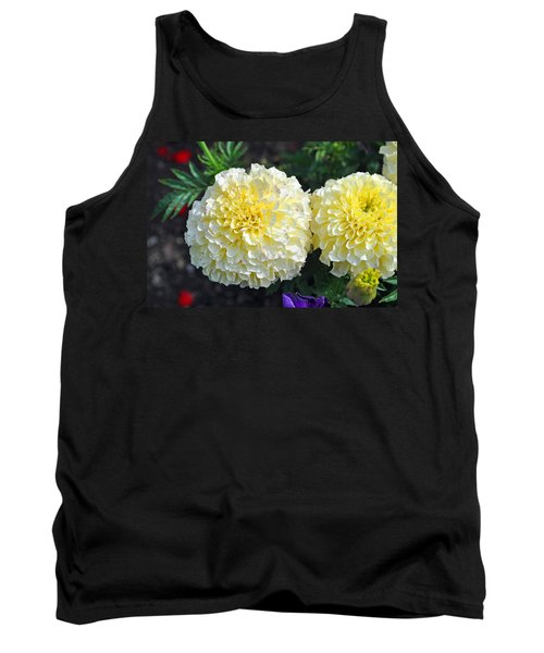 Tank Top featuring the photograph Carnations by Tikvah's Hope