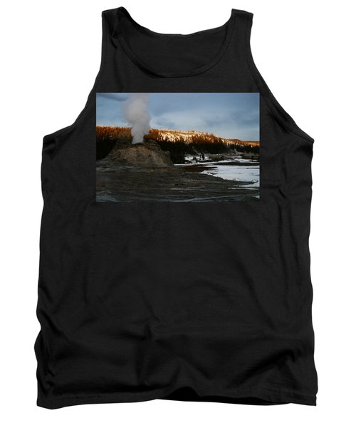 Castle Geyser Yellowstone National Park Tank Top