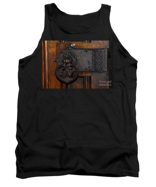 Tank Top featuring the photograph Chapel Door by Cindy Manero