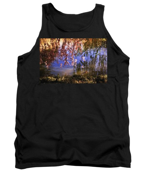 Cherry Blossoms In The Sun - New York City Tank Top