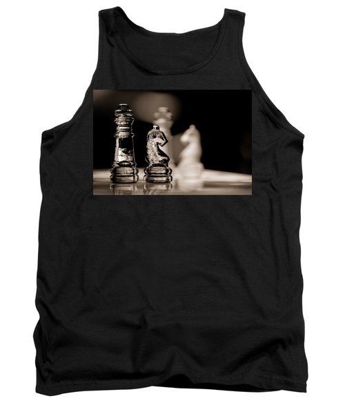 Chess King And Knight Tank Top