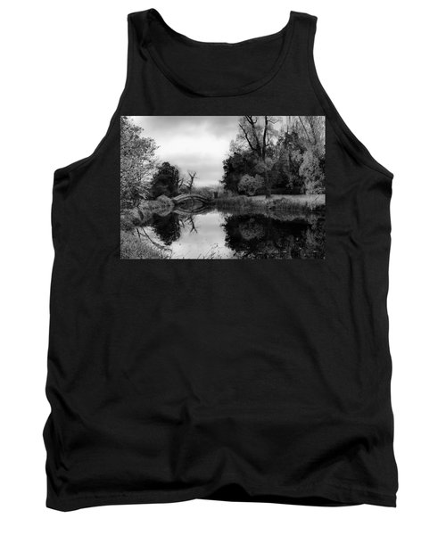 Chinese Bridge At Wrest Park Tank Top
