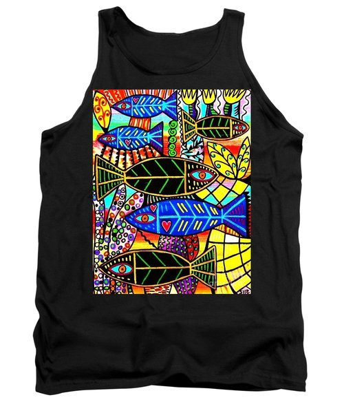 Citrine Coral Fish Tank Top