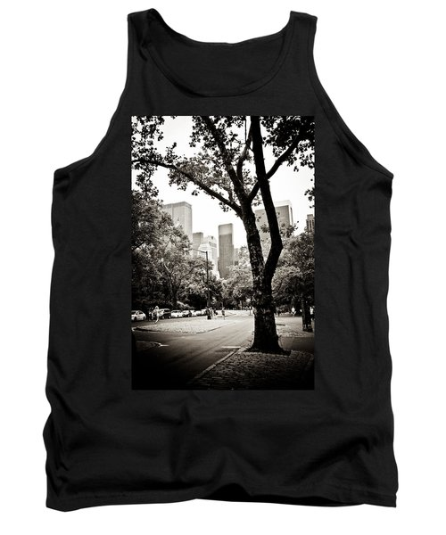 Tank Top featuring the photograph City Contrast by Sara Frank