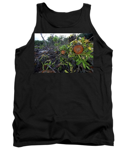 Clear Cut Red Mangrove Stand Tank Top
