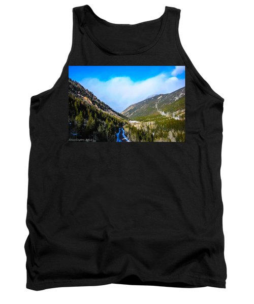 Tank Top featuring the photograph Colorado Road by Shannon Harrington