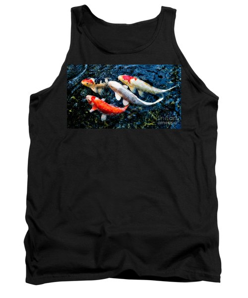 Colorful Swimmers Tank Top
