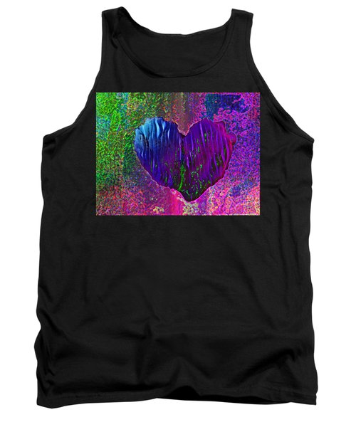 Tank Top featuring the photograph Contours Of The Heart by David Pantuso