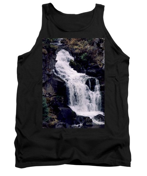 Tank Top featuring the photograph Cool Clear Waters by Sharon Elliott