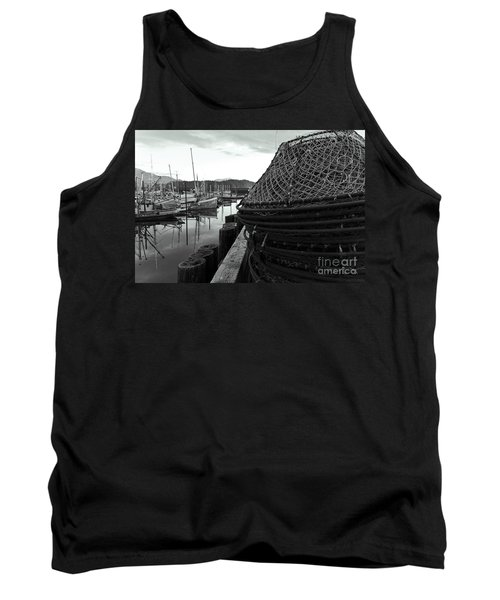Crab Traps Tank Top by Darcy Michaelchuk