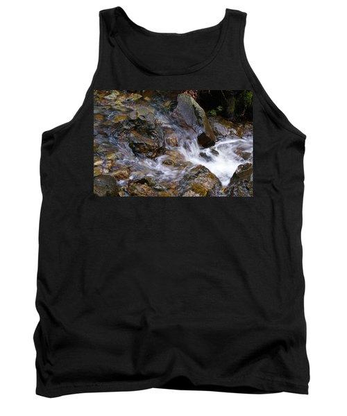 Creek Scene On Mt Tamalpais Tank Top