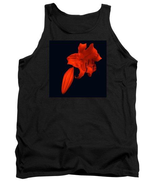 Crimson Lily Tank Top