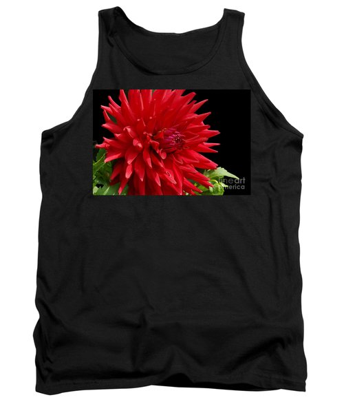Decked Out Dahlia Tank Top by Cindy Manero