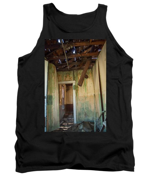 Tank Top featuring the photograph Deterioration by Fran Riley