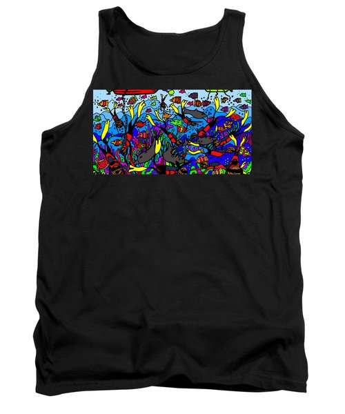Divers Of The Deep Tank Top