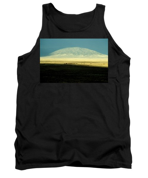Dome Mountain Tank Top by Brent L Ander