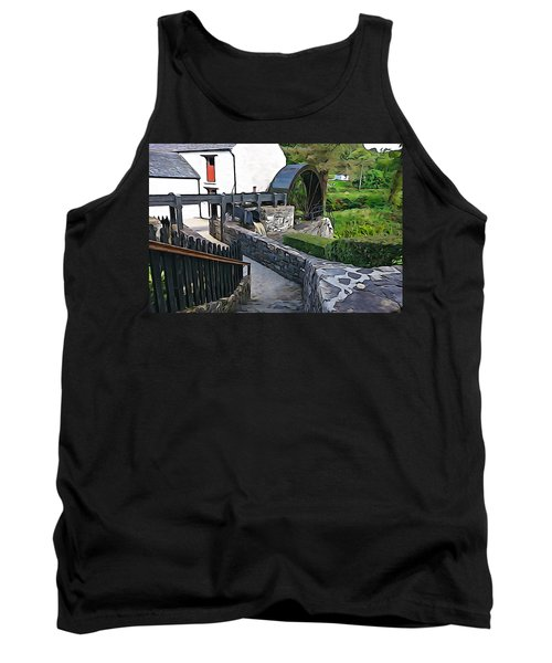 Tank Top featuring the photograph Down To The Mill by Charlie and Norma Brock