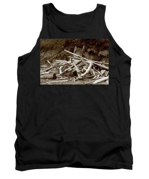 Driftwood Pile San Juan Tank Top