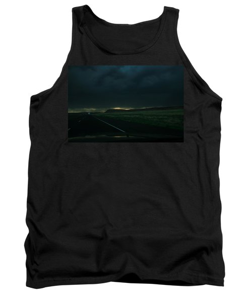 Driving Rain Number One Tank Top by Lon Casler Bixby